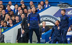 LONDON, ENGLAND - Sunday, September 22, 2019: Chelsea's manager Frank Lampard during the FA Premier League match between Chelsea FC and Liverpool FC at Stamford Bridge. (Pic by David Rawcliffe/Propaganda)