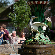 Ornamental fountain, Beacon Park, Lichfield