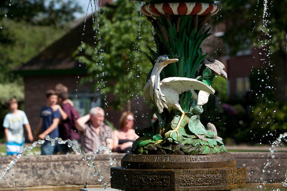 Ornamental fountain, Beacon Park, Lichfield
