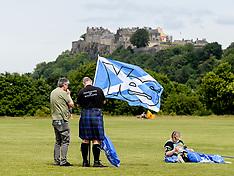 Scottish Independence march,  Bannockburn, 23 June 2018