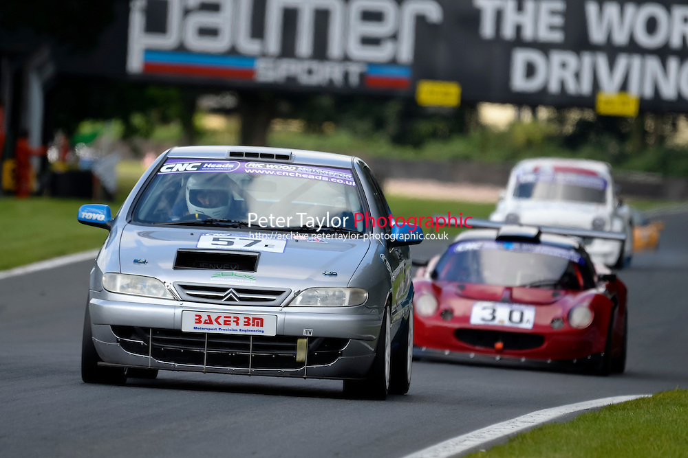 #57 Paul Rotheroe Citroen Xsara 2000 during the CNC Heads Sports & Saloon Car Championship at Oulton Park, Little Budworth, Cheshire, United Kingdom. August 06 2016. World Copyright Peter Taylor/PSP.