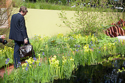 ZAC GOLDSMITH, Press and VIP viewing day. Chelsea Flower show, Royal Hospital Grounds. Chelsea. London. 18 May 2009