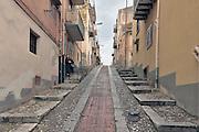 Termini Imerese, the city was living mainly around the Fiat factory which is now  closed.<br /> Termini Imerese, la citta' vive l'incertezza di un destino costruito intorno alla Fiat che ha chiuso.