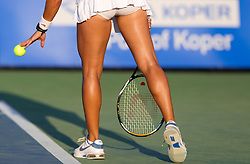 Tennis player at 2nd Round of Singles at Banka Koper Slovenia Open WTA Tour tennis tournament, on July 22, 2010 in Portoroz / Portorose, Slovenia. (Photo by Vid Ponikvar / Sportida)