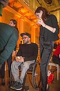 RYAN GANDER, Lisson Gallery dinner, Banqueting House. London. 15 October 2013