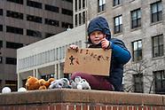 moveon.org rally - boston city hall - 1.31.17