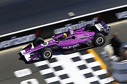 September 15, 2018 - Sonoma, California, United Stated - SANTINO FERRUCC (39) of the United States takes to the track to practice for the Indycar Grand Prix of Sonoma at Sonoma Raceway in Sonoma, California. (Credit Image: © Justin R. Noe Asp Inc/ASP via ZUMA Wire)