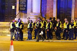 June 3, 2017 - London, England - Terror attack London bridge. Police moving into position..Terrorist Attack in London, 2017-06-03..(c) VAN DEN BERG PETER  / Aftonbladet / IBL BildbyrÃ¥....* * * EXPRESSEN OUT * * *....AFTONBLADET / 3790 (Credit Image: © Aftonbladet/IBL via ZUMA Wire)