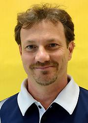 08-08-2014 NED: FIVB Grand Prix Nederland - Puerto Rico, Doetinchem<br /> Official FIVB referee Rapisarde, Daniele (ITA)