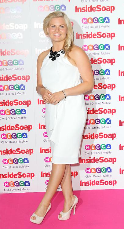 Bonnie Sveen, Inside Soap Awards, Ministry Of Sound, London UK, 21 October 2013, Photo by Richard Goldschmidt