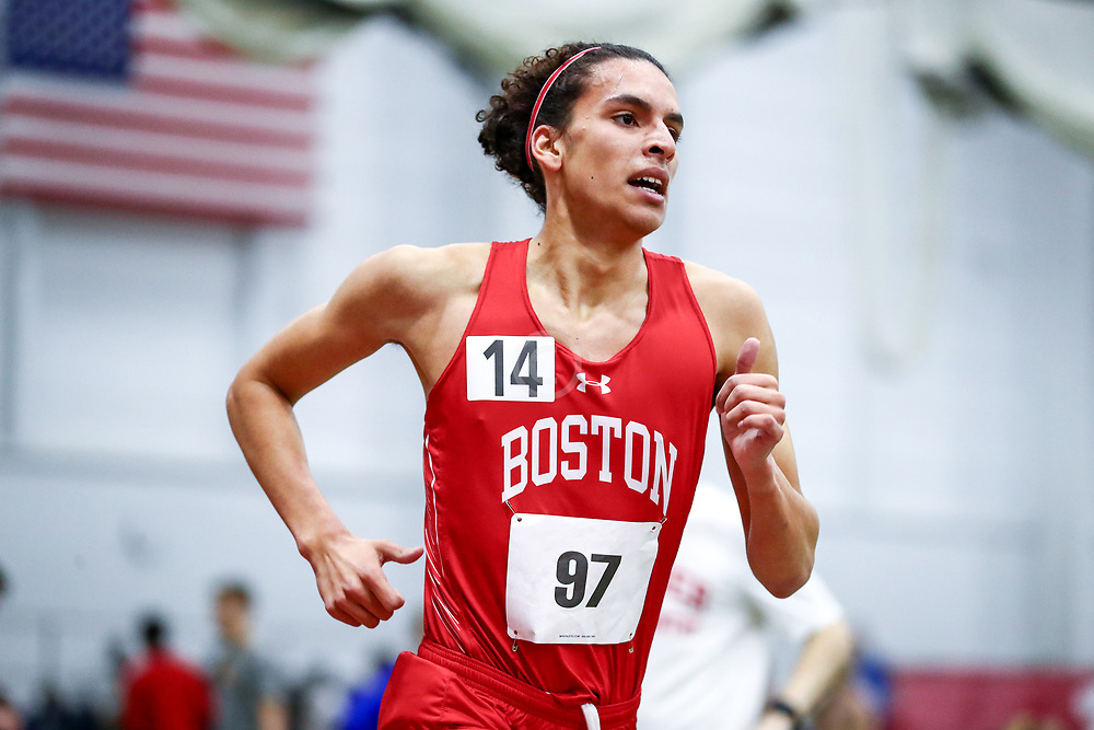 Boston University Scarlet and White<br /> Indoor Track & Field, Bruce LeHane
