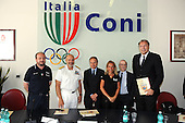 20120709 Roma Coni Conferenza Stampa Nazionale Italia Under 18 Maschile Basket On Board sulla portae
