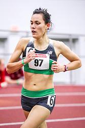 womens Mile, heat 1, Battle Road TC, NB, van den Heuval<br /> BU John Terrier Classic <br /> Indoor Track & Field Meet