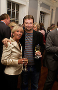 James Dreyfus with his mother Margo de Zoghels, launch of 'David Hemmings Blow-Up and other exaggerations'. Published by Robson. I.C.A. The Mall.  SUPPLIED FOR ONE-TIME USE ONLY-DO NOT ARCHIVE. © Copyright Photograph by Dafydd Jones 66 Stockwell Park Rd. London SW9 0DA Tel 020 7733 0108 www.dafjones.com