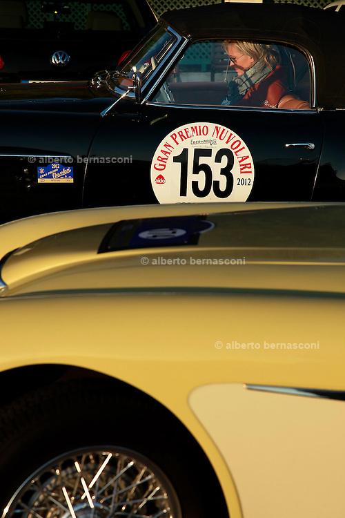GP TAZIO NUVOLARI 2012. MERCEDES 190SL 1956