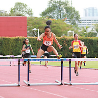 A Div Girls 400m Hurdles