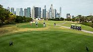 2nd tee at The Address Montgomerie Golf Club, Dubai, United Arab Emirates.  27/01/2016. Picture: Golffile | David Lloyd<br /> <br /> All photos usage must carry mandatory copyright credit (© Golffile | David Lloyd)