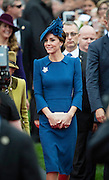 VICTORIA-BC- CANADA - 24th-Sept 2016. <br /> <br /> The Duke and Duchess of Cambridge attend the Official Welcome Ceremony at British Colombia's Parliament Building at the start of their official visit to Canada. The couple were greeted by thousands of people at the open-air ceremony.<br /> Their Royal Highnesses earlier arrived at Victoria Airport accompanied by Prince George and Princess Charlotte before moving to Government House - where they will be based throughout the tour<br /> ©Exclusivepix Media