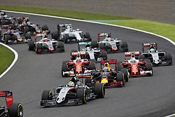 October 9, 2016 - Suzuka, Japan - Motorsports: FIA Formula One World Championship 2016, Grand Prix of Japan, .#11 Sergio Perez (MEX, Sahara Force India F1 Team) (Credit Image: © Hoch Zwei via ZUMA Wire)