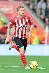 Southampton's Steven Davis - Photo mandatory by-line: Dougie Allward/JMP - Mobile: 07966 386802 - 25/10/2014 - SPORT - Football - Southampton - ST Mary's Stadium - Southampton v Stoke - Barclays Premier League