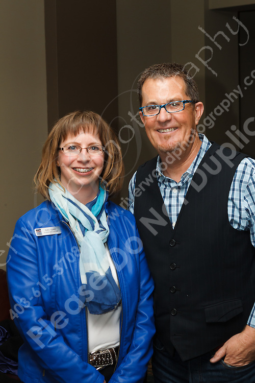 Candid event coverage of the Professional Organizers in Canada Calgary Chapter at the Peter Walsh Live event at the Boyce Theatre at the Calgary Stampede grounds...©2013, Sean Phillips.http://www.RiverwoodPhotography.com