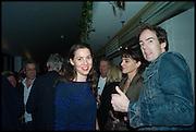 VICTORIA SIDDALL; JONTY CLAYPOLE, Frieze party, ACE hotel Shoreditch. London. 18 October 2014