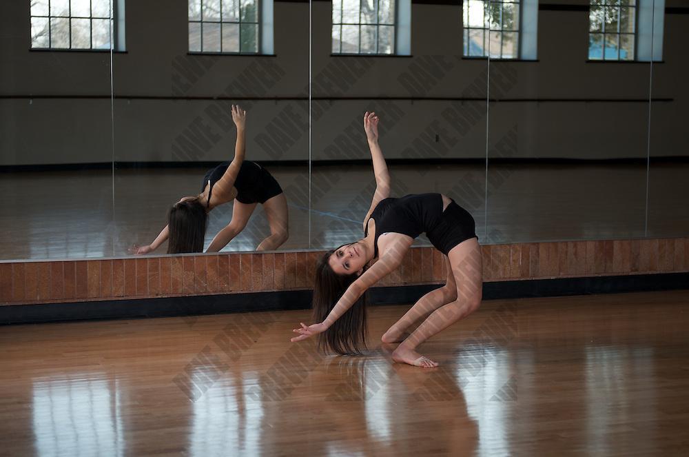 OHS Tigerettes Dance Room Shoot #2