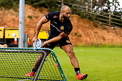 Olly Woodburn of Exeter Chiefs - Mandatory by-line: Robbie Stephenson/JMP - 02/09/2019 - RUGBY - Sandy Park - Exeter, England - Exeter Chiefs Preseason Training