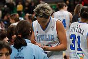 DESCRIZIONE : Priolo Additional Qualification Round Eurobasket Women 2009 Italia Belgio<br /> GIOCATORE : Manuela Zanon<br /> SQUADRA : Nazionale Italia Donne<br /> EVENTO : Qualificazioni Eurobasket Donne 2009<br /> GARA : Italia Belgio<br /> DATA : 16/01/2009<br /> CATEGORIA : Esultanza Ritratto<br /> SPORT : Pallacanestro<br /> AUTORE : Agenzia Ciamillo-Castoria/G.Pappalardo