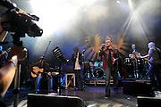 Baaba Maal with Bono of U2 live at the Island 50 concert