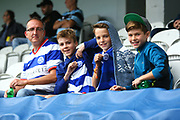 QPR Fans ready for the game during the EFL Sky Bet Championship match between Queens Park Rangers and Burton Albion at the Loftus Road Stadium, London, England on 23 September 2017. Photo by John Potts.