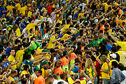 Rio de Janeiro_RJ, Brazil.<br /> <br /> Copa das Confederacoes 2013. Final da Copa das Confederacoes no estadio do Maracana, com Brasil x Espanha.<br /> <br /> The 2013 FIFA Confederations Cup. The last game of the Confederations Cup in the Maracana stadium with Brazil x Spain.<br /> <br /> Fotos: BRUNO MAGALHAES / NITRO