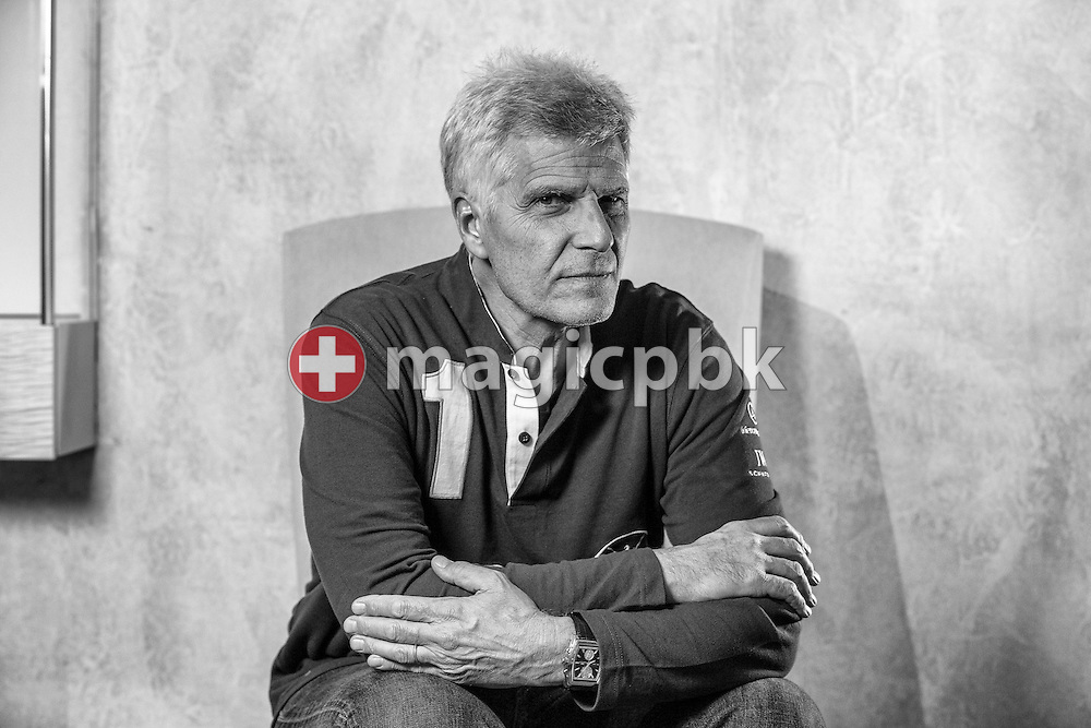 Mark SPITZ of the USA is pictured during a portrait session in Zurich, Switzerland, Thursday, Nov. 8, 2012. Mark Andrew Spitz (born February 10, 1950) is an American former swimmer, Olympic champion, and former world record-holder. He won seven gold medals at the 1972 Summer Olympics, an achievement only surpassed by Michael Phelps who won eight golds at the 2008 Olympics. Spitz set new world records in all seven events in which he competed, a record that still stands. Since the year 1900, no other swimmer has ever gained so great a percentage of all the medals awarded for Olympic events held in a single Games. (Photo by Patrick B. Kraemer / MAGICPBK)
