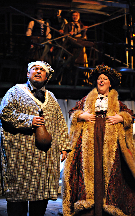 "Bag & Baggage's production of ""A Christmas Carol"" in September 2009. (photo by Casey Campbell)"