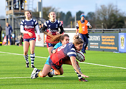 Gabby Senft of Bristol Bears Women in action in Tyrrells Premier 15's - Mandatory by-line: Paul Knight/JMP - 19/01/2019 - RUGBY - Shaftesbury Park - Bristol, England - Bristol Bears Women v Worcester Valkyries - Tyrrells Premier 15s