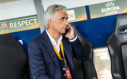 20.10.2016, Red Bull Arena, Salzburg, AUT, UEFA EL, FC Red Bull Salzburg vs OGC Nizza, Gruppe I, im Bild Präsident Jean Pierre Rivere (OGC Nizza) // President Jean Pierre Riviere (OGC Nice) during the UEFA Europa League group I match between FC Red Bull Salzburg and OGC Nizza at the Red Bull Arena in Salzburg, Austria on 2016/10/20. EXPA Pictures © 2016, PhotoCredit: EXPA/ JFK