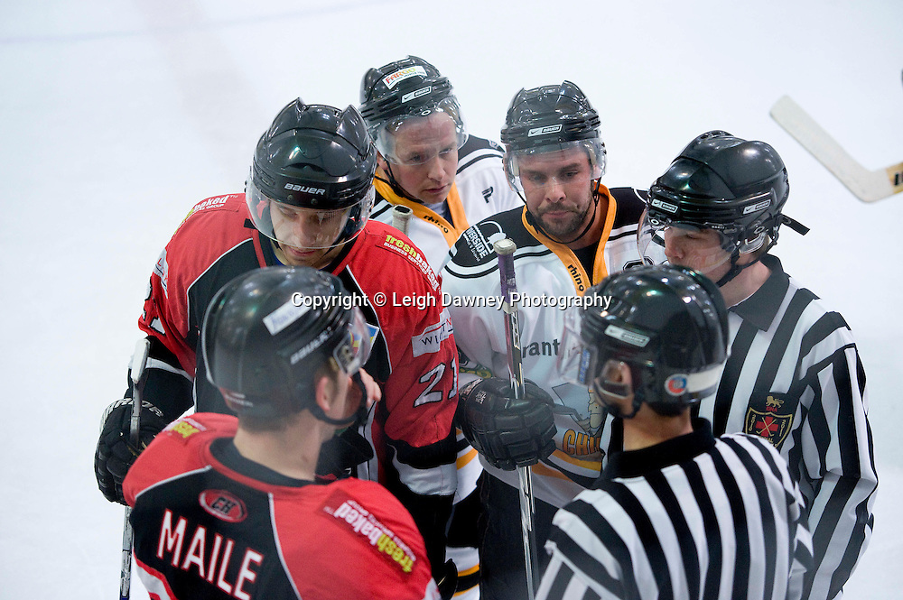 Chelmsford Chieftons defeat Cardiff Devils at Riverside Ice Arena & Leisure Centre, 28th November 2010. Credit: Leigh Dawney Photography