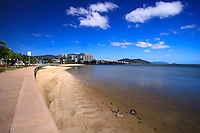 The foreshore along the Cairns Esplanade is a popular place for both locals and tourists to take a morning or evening walk.