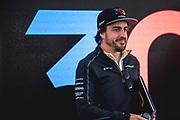 June 7-11, 2018: Canadian Grand Prix. Fernando Alonso (SPA), McLaren Renault, MCL33 celebrates his 300th F1 race