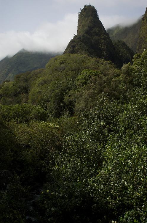 Maui, HI, Iao Valley, Iao Needle