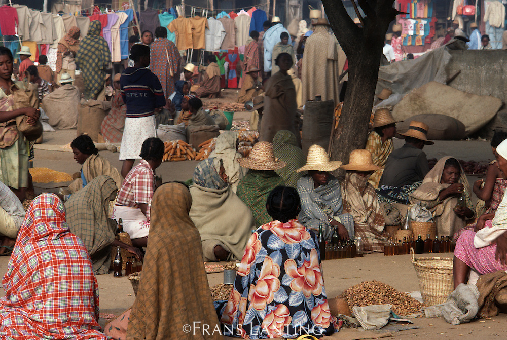 Village market, Southern Madagascar