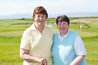 Swinford Golf Club, Julie Loftus and Catherine Loftusone of the 18 golf clubs who qualified for The 2012 Ladies Irish Open Club Challenge Connaught Final battled it out at Galway Golf Club with the winning team going through to play in the Ladies Irish Open PRO-AM in Killeen Castle on August 2nd. .MORE:.The winning team Galway Golf Club of  Clodgah Hennessy, Sheelagh Kearney and Alice Murphy,  earn a once-in-a-lifetime opportunity to play with a professional at the Ladies Irish Open in August along with an over-night stay and invitation to the Gala Dinner..Over 180 clubs throughout the country, resulting in a total of 584 teams and 1,752 ladies, entered this year?s Club Challenge with 120 teams qualifying for the provincial finals. The participating clubs are competing in the fifth staging of the Club Challenge following the outstanding success of The 2011 Solheim Cup, the greatest global marquee event in ladies golf which saw Alison Nicholas? team of Europeans win back the coveted trophy by a margin of 14.5 - 12.5 in the most exciting staging of the event ever recorded, in Killeen Castle, Co. Meath..For the latest information on The 2012 Ladies Irish Open Club Challenge and to purchase tickets for The 2012 Ladies Irish Open visit www.ladiesirishopen.ie.Photo:Andrew Downes. ..