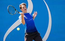 Aljaz Jakob Kaplja of Slovenia during 2nd Round of Qualifications of ATP Challenger Tilia Slovenia Open 2016, on August 7, 2016 in Portoroz/Portorose, Slovenia. Photo by Vid Ponikvar / Sportida