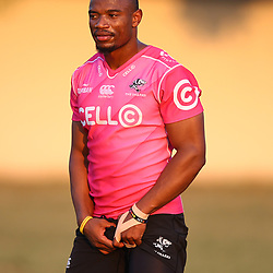 Makazole Mapimpi of the Cell C Sharks during the Cell C Sharks training, Jonsson Kings Park Stadium,Durban South Africa.27,06,2018 Photo by (Steve Haag REX Shutterstock )