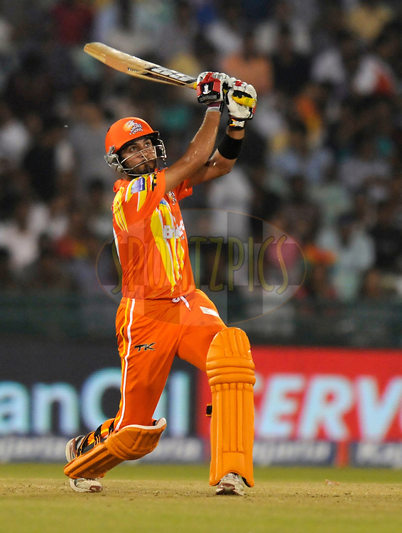 Saad Nasim of Lahore Lions bats during the qualifier 3 match of the Oppo Champions League Twenty20 between the Northern Knights and the Lahore Lions held at the Chhattisgarh International Cricket Stadium, Raipur, India on the 14th September 2014<br /> <br /> Photo by:  Pal Pillai / Sportzpics/ CLT20<br /> <br /> <br /> Image use is subject to the terms and conditions as laid out by the BCCI/ CLT20.  The terms and conditions can be downloaded here:<br /> <br /> http://sportzpics.photoshelter.com/gallery/CLT20-Image-Terms-and-Conditions-2014/G0000IfNJn535VPU/C0000QhhKadWcjYs