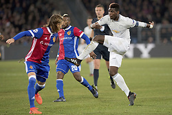 November 22, 2017 - Basel, BS, Schweiz - Basel, Fussball UEFA Champions League, FC Basel - Manchester United. 22.11. 2017. Manchesters Paul Pogba gegen Basels Michael Lang. (Credit Image: © Daniel Teuscher/EQ Images via ZUMA Press)