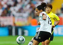 30.06.2011, Commerzbank-Arena, Frankfurt, GER, FIFA Women Worldcup 2011, GRUPPE A, Deutschland (GER) vs. Nigeria (NGR) , im Bild Celia Okoyino a Mbabi (Deutschland #13, Bad Neuenahr) // during the FIFA Women Worldcup 2011, Pool A, Germany vs. Nigeria on 2011/06/30, Commerzbank-Arena, Frankfurt, Germany. EXPA Pictures © 2011, PhotoCredit: EXPA/ nph/  Roth       ****** out of GER / CRO  / BEL ******