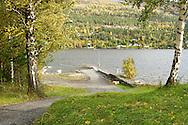 Vandaag mocht de pers voor het eerst weer op het eiland Utoya in Noorwegen bij Oslo, na de slachtpartij op 22-07-2011 waarbij 77 slachtoffers vielen<br /> Foto: Geert van Erven