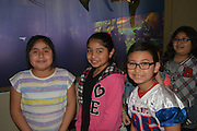 Southmayd fourth-graders at the newly renovated Burke Baker Planetarium at the Houston Museum of Natural Science.