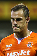 Luke Wilkinson of Luton Town during the Sky Bet League 2 match at Kenilworth Road, Luton<br /> Picture by David Horn/Focus Images Ltd +44 7545 970036<br /> 19/08/2014